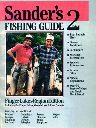 9780961805708: Sander's Fishing Guide to New York #2: Finger Lakes Region