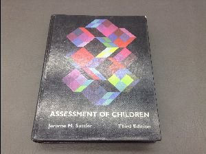 9780961820909: Assessment of children