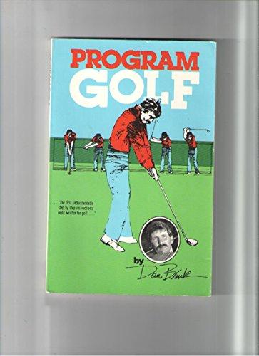 9780961843908: Program golf