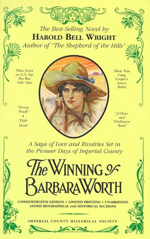 9780961847357: The winning of Barbara Worth