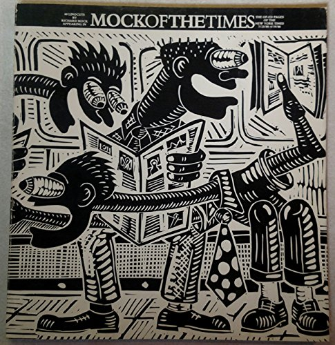 Mockofthetimes: 60 linocuts by Richard Mock appearing in the op-ed pages of the New York Times, 7...