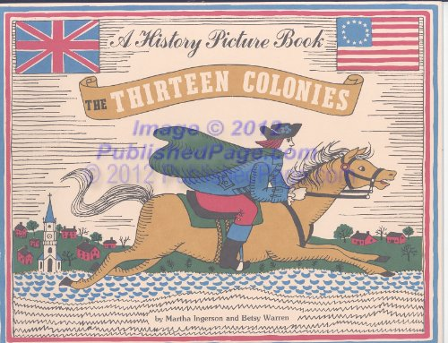 9780961866037: History Picture Book: 13 Colonies