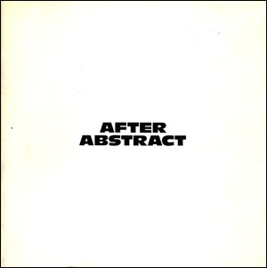 After abstract: September 24 through October 29, 1988: Stephen Nowlin