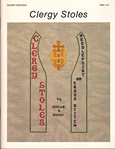 9780961894801: Clergy Stoles: Needlepoint or Cross-Stitch