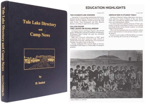 9780961976705: Tule Lake directory and camp news, May 1942 through September 1943