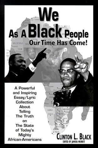 9780962018015: We As A Black People