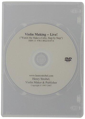 Violin Making Live -- Watch Me Make a Cello Step by Step: Henry Strobel