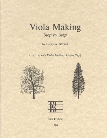 9780962067396: Viola Making, Step by Step