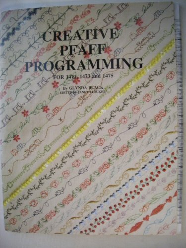 9780962082603: Creative Pfaff Programming for 1471, 1473 and 1475