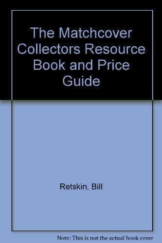 9780962091902: The Matchcover Collectors Resource Book and Price Guide