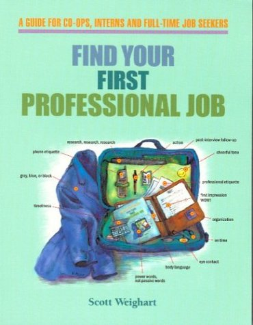 9780962126420: Find Your First Professional Job