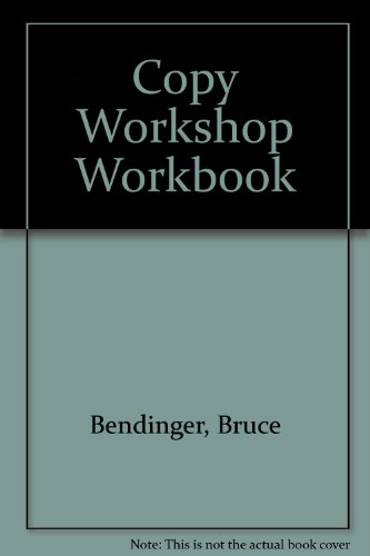 9780962141508: Copy Workshop Workbook