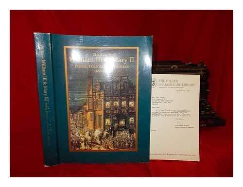 The Age of William III & Mary: Robert P. MacCubbin;