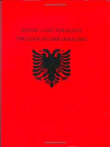 9780962214103: Kanuni I Leke Dukagjinit: The Code of Leke Dukagjini