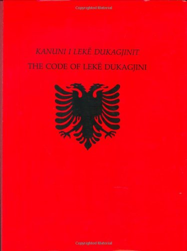 Kanuni I Leke Dukagjinit: The Code of