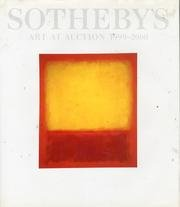 Sotheby's Art At Auction 1999 - 2000 (0962258857) by Sotheby's