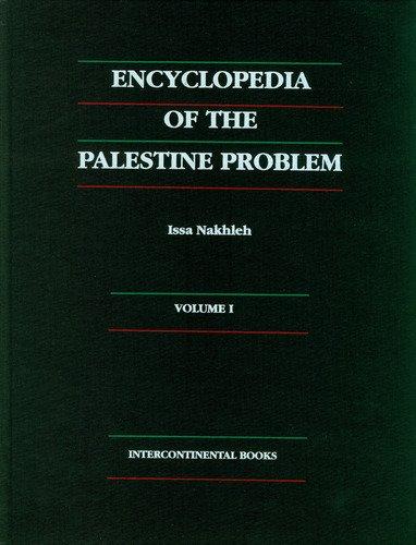 9780962288111: Encyclopedia of the Palestine Problem