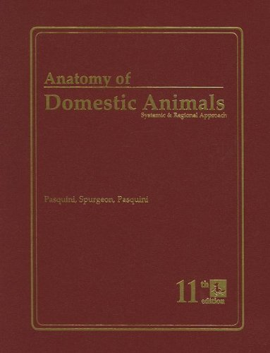 Anatomy of Domestic Animals: Systemic & Regional: Pasquini, Chris; Spurgeon,
