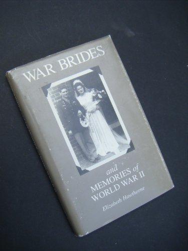 9780962325519: War Brides and Memories of World War II