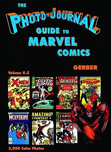 9780962332852: Photo-Journal Guide to Marvel Comics Volume 4 (K-Z)