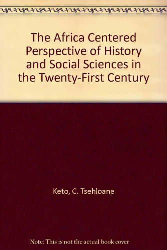 9780962344206: Africa Centered Perspective of History