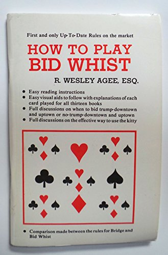 9780962357800: How to Play Bid Whist