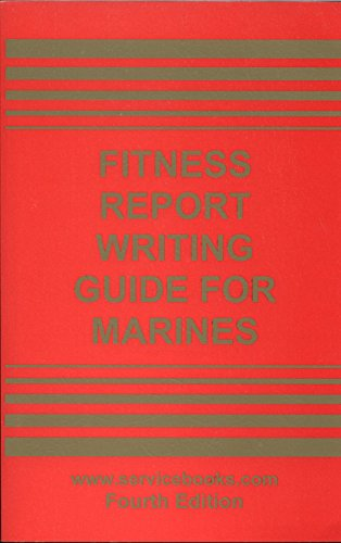 9780962367397: Fitness report writing guide for Marines