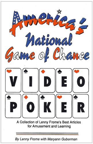 9780962376689: America's National Game of Chance: Video Poker