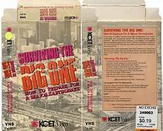9780962385001: Surviving the Big One Vhs Video