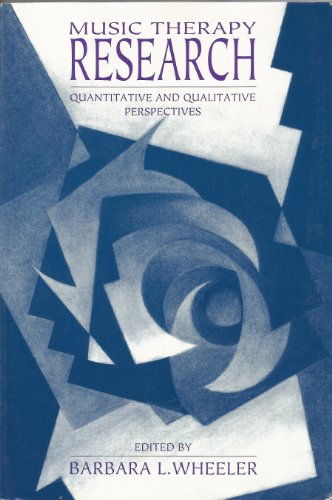 9780962408038: Music Therapy Research: Quantitative and Qualitative Perspectives