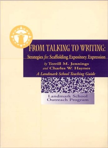 From Talking to Writing: Strategies for Scaffolding: Terrill Jennings, Charles