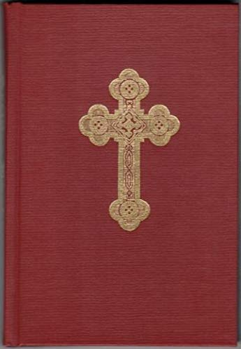 Service Book of the Antiochian Orthodox Christian