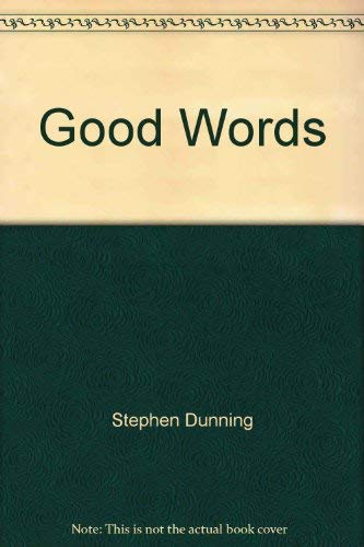 9780962445330: Good words