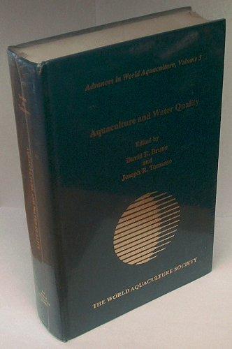 Aquaculture & Water Quality: Brune, David E (Editor), and Tomasso, Joseph R (Editor)