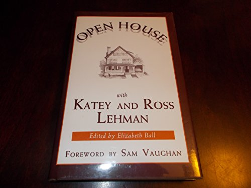 Open house with Katey and Ross Lehman: Katey Lehman