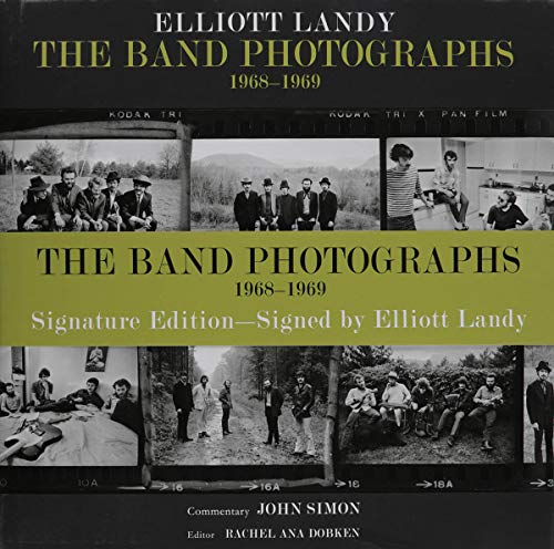 9780962507373: The Band Photographs: 1968-1969: Autographed Signature Edition
