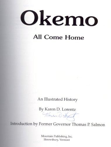 Okemo: All Come Home: Lorentz, Karen D.