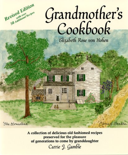 9780962542510: Grandmother's Cookbook