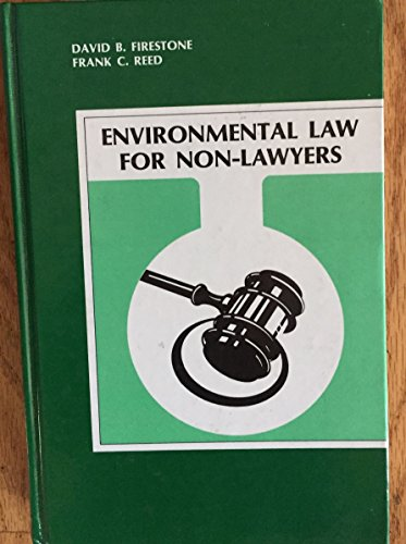 9780962546303: Environmental Law for Non-Lawyers