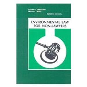 9780962546365: Environmental Law for Non-Lawyers