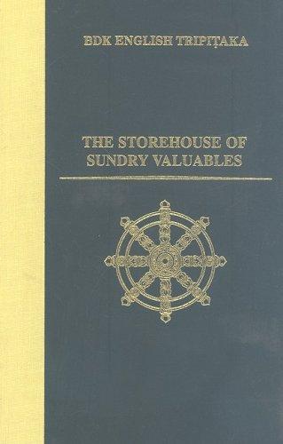 9780962561832: The Storehouse of Sundry Valuables (Bdk English Tripitaka Translation Series)