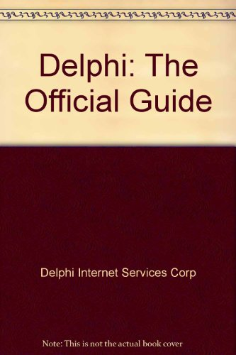 9780962562327: Delphi: The Official Guide