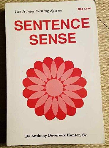 9780962583902: Sentence Sense (Hunter Writing System) Red Level