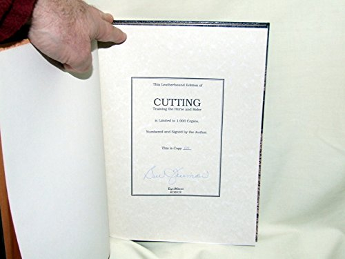Cutting: Training the Horse and Rider (9780962589805) by Bill Freeman; Gala Nettles