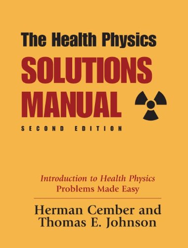 9780962596384: Health Physics Solutions Manual, 2nd Edition