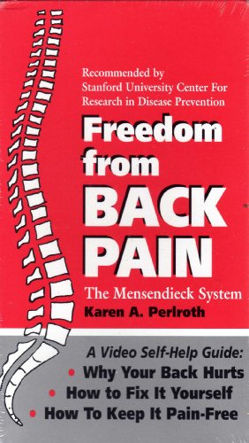 9780962615658: Freedom from Back Pain [VHS]
