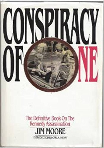 9780962621956: Conspiracy of One