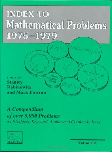 9780962640124: Index to Mathematical Problems 1975-1979