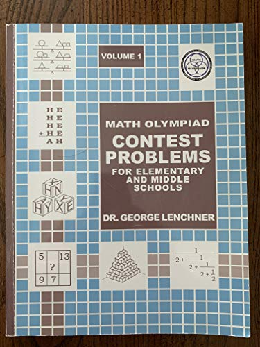 9780962666216: Math Olympiad Contest Problems for Elementary and Middle Schools