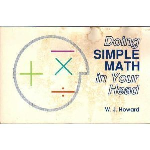 9780962734151: Doing Simple Math in Your Head